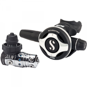 SCUBAPRO's MK25 EVO/S600 Regulator Set
